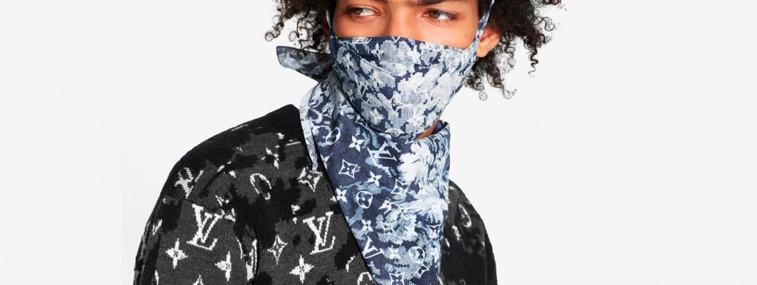 Бандана маска с уши Earloops се продава от Louis Vuitton за 480 долара :)