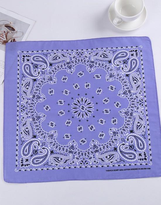 Бандана кърпа за глава New Bandana в лилав цвят, Бандани кърпи - Bandana.bg