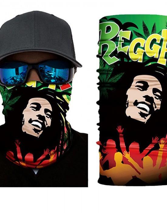 Мултифункционален шал бандана Bob Marley, Бандани шал - Bandana.bg