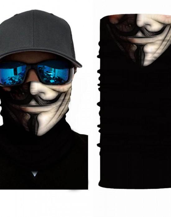 Мултифункционален шал бандана за глава Anonymoos 2, Бандани шал - Bandana.bg