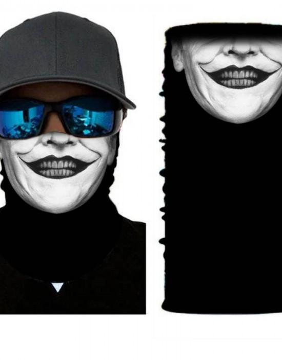 Мултифункционален шал бандана за глава Joker, Бандани шал - Bandana.bg