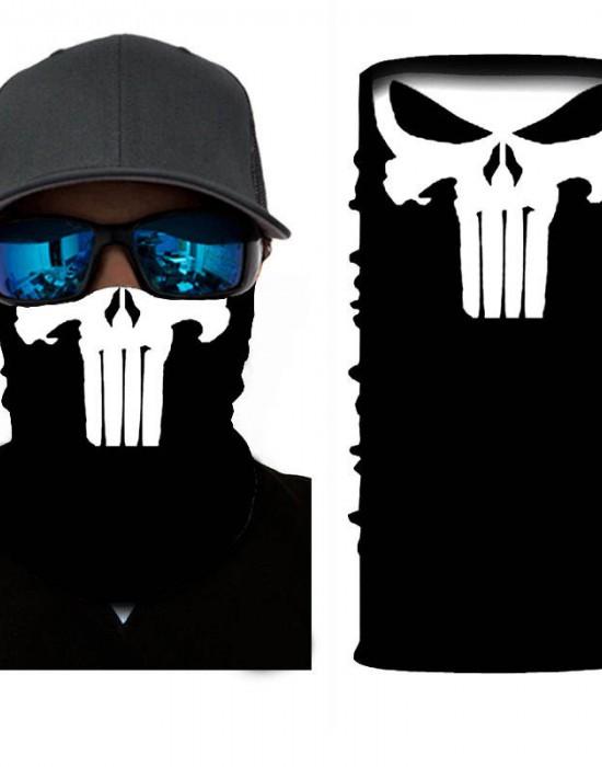 Мултифункционален шал бандана за глава the Punisher, Бандани шал - Bandana.bg