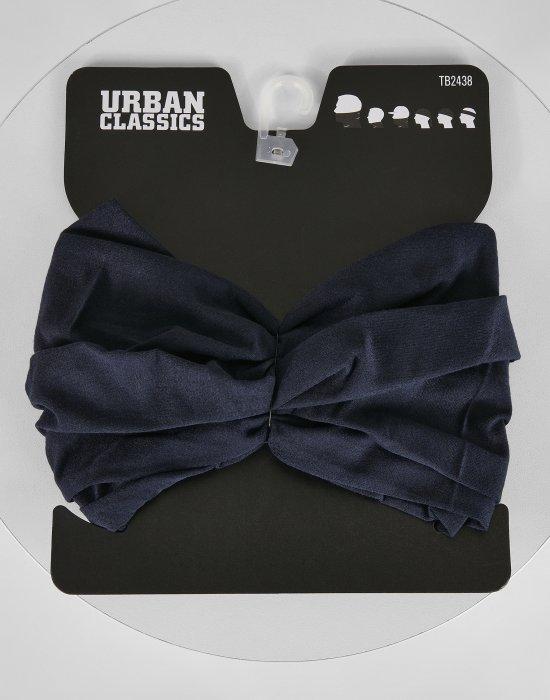 Многофункционален тъмносин шал от Urban Classics, Бандани шал - Bandana.bg
