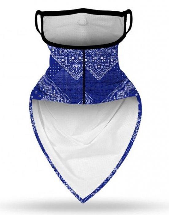 Бандана с уши в сив камуфлаж Camo Grey, Бандани маски с уши - Bandana.bg