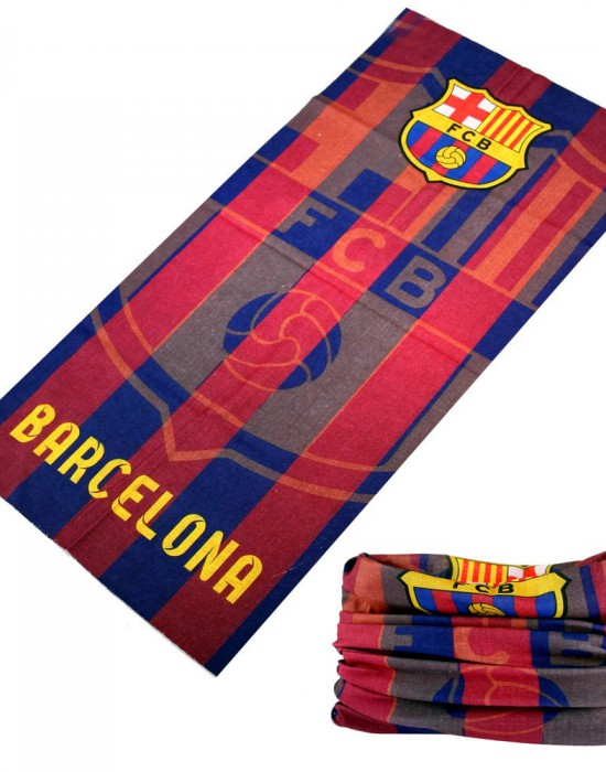 Мултифункционален шал бандана за глава Barcelona, Бандани шал - Bandana.bg