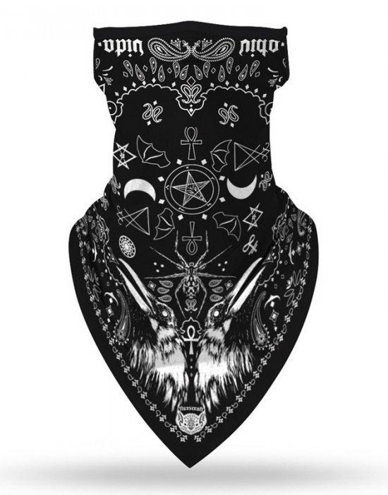 Бандана маска с уши в интересен дизайн, Бандани маски с уши - Bandana.bg