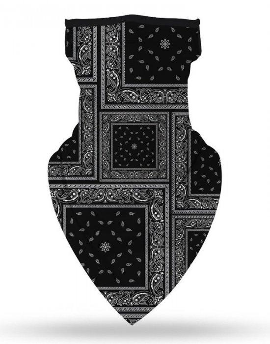 Бандана маска с уши в черно Band Bestseller, Бандани маски с уши - Bandana.bg