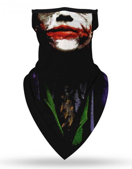 Бандана маска с уши Жокерът Joker, Бандани маски с уши - Bandana.bg