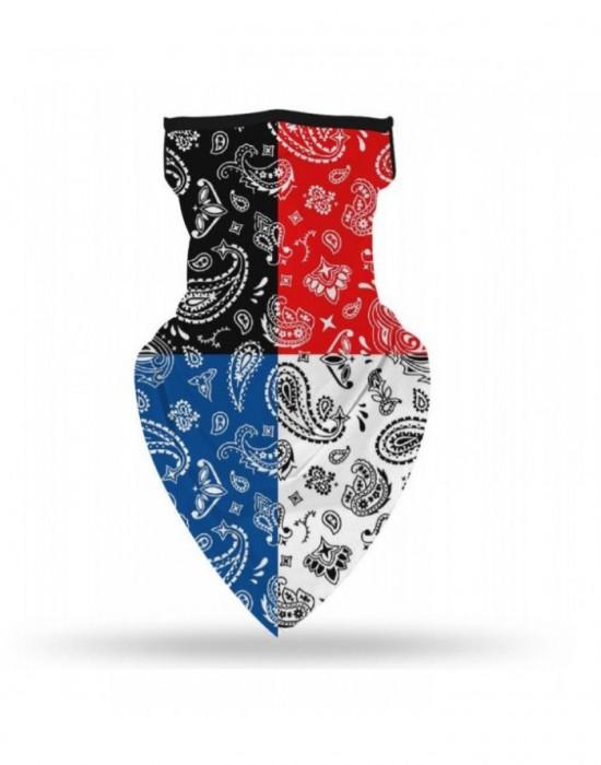 Бандана маска с уши в 4 цвята Band Design 4Tone, Бандани маски с уши - Bandana.bg
