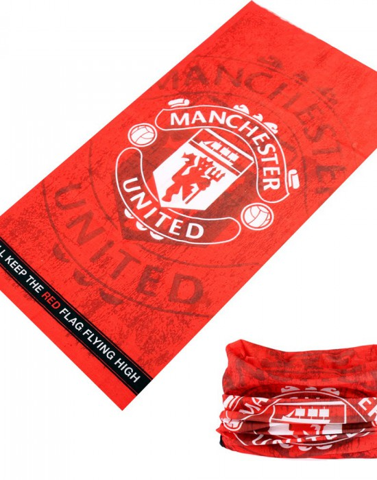 Мултифункционален шал бандана за глава Manchester United, Бандани шал - Bandana.bg