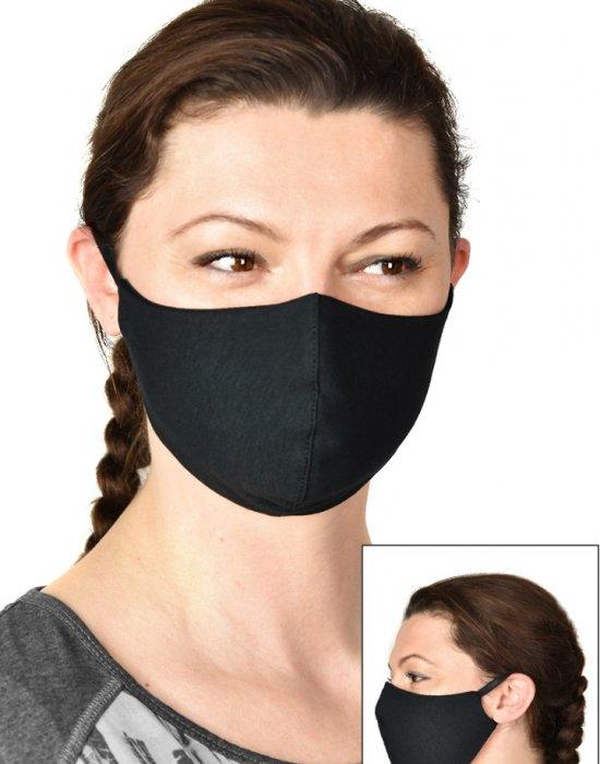 Защитна маска за лице в черен цвят, Бандани кърпи - Bandana.bg
