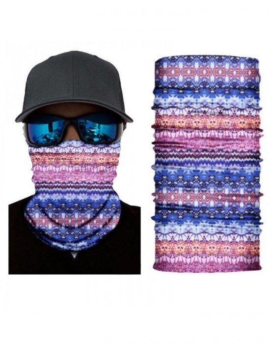 Бандана шал бъф в свеж цветен дизайн HoodStyle Bandana Buff, Бандани шал - Bandana.bg