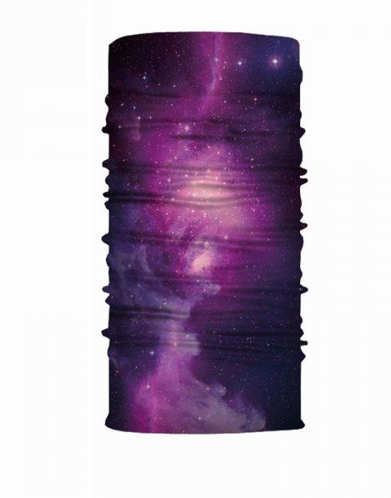 Бандана шал HoodStyle Bandana Purple Starry Sky, Бандани шал - Bandana.bg