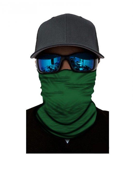 Бандана шал HoodStyle Bandana в зелен цвят, Бандани шал - Bandana.bg