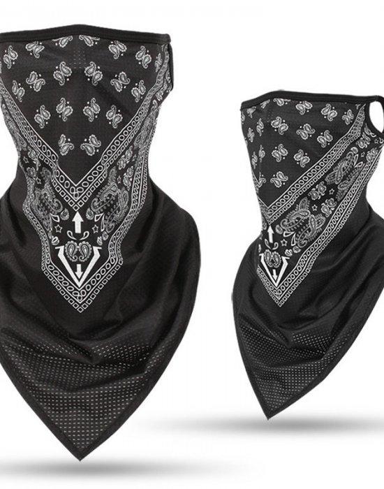 Бандана маска с уши нов дизайн Design Paisley, Бандани маски с уши - Bandana.bg