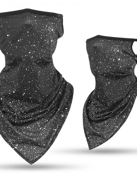 Бандана маска с уши напръскан дизайн, Бандани маски с уши - Bandana.bg