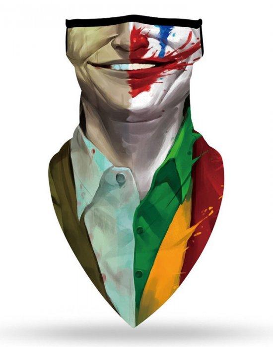 Бандана маска с уши нов дизайн Жокерът Joker, Бандани маски с уши - Bandana.bg