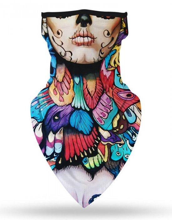 Бандана маска с уши нов дизайн, Бандани маски с уши - Bandana.bg