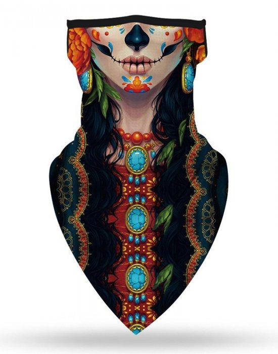 Бандана маска с уши Woman Fashion Band, Бандани маски с уши - Bandana.bg