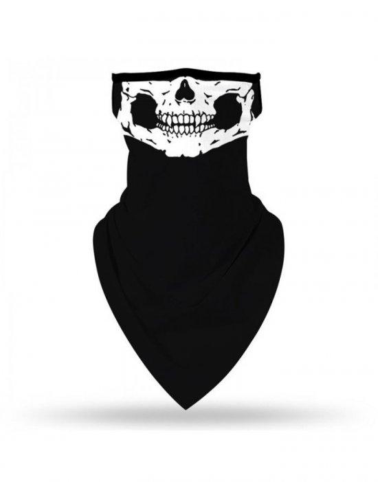 Бандана нов дизайн HoodStyle Bandana Bestseller Design черна, Бандани маски с уши - Bandana.bg